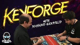 KeyForge Demo  with Richard Garfield