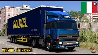 Italia DLC | Iveco 190-38 Messina - Catanzaro | Euro Truck Simulator 2 (ETS2 1.30)