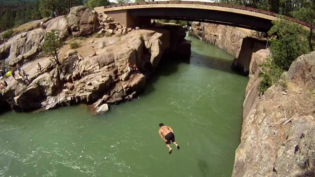 Danger Dawgs Cliff Jumping Montage GoProHD YouTube - 8 most dangerous cliff jumps in the world