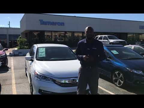 2017 Accord For Suquwanna From Pat Level At Tameron Honda In Birmingham