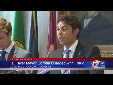 Fall River Mayor Charged with Fraud