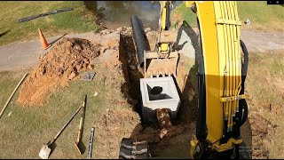 Replacing A Storm Drain At The Golf Course