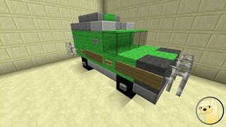 Minecraft - How To Build Transformers 1-3 Ratchet!