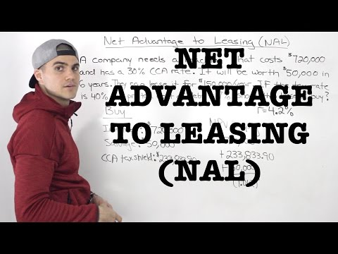 FIN 401 - Net Advantage to Leasing (NAL) - Ryerson University