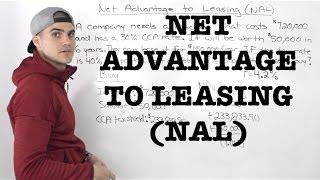FIN 401 - Net Advantage to Leasing (NAL) - Ryerson University