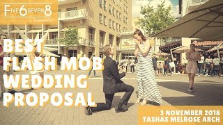 Best Flash Mob Wedding Proposal - Marvin Gaye / Can't Stop The Feeling / Marry You Final