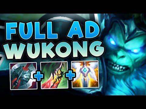 THE WOMBO COMBO KING! SECRET OP WUKONG TOP?! FULL AD WUKONG TOP GAMEPLAY SEASON 7! League of Legends
