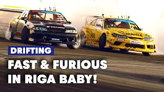 Fast And Furious In Riga: Drift Masters European Championship Round 4 | DMEC 2019