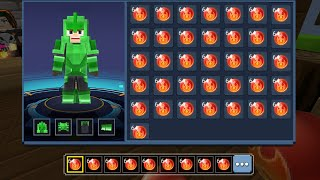INFINITY FIRE BALL POWER with GCUBES in Bed Wars!! [Blockman Go]