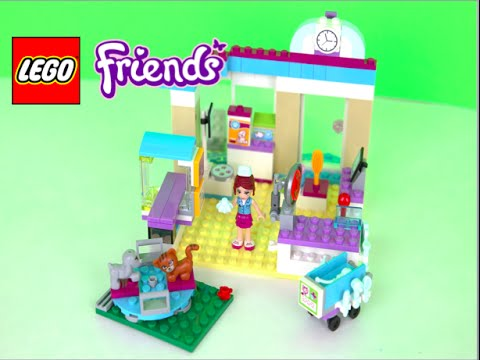 How To Build Lego Friends Vet Clinic