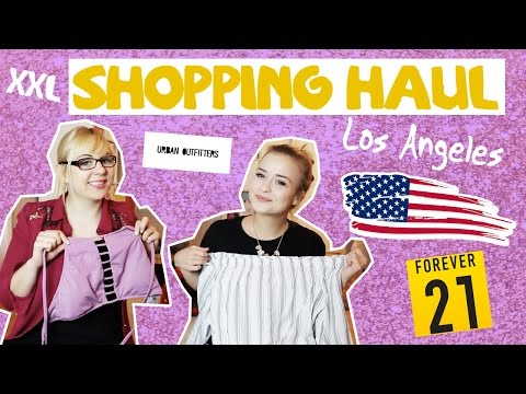 XXL USA SHOPPING HAUL Sommer 2017 / Forever 21, Urban Outfitters & Co.