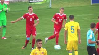 Обзор игры. Россия - Украина - U18