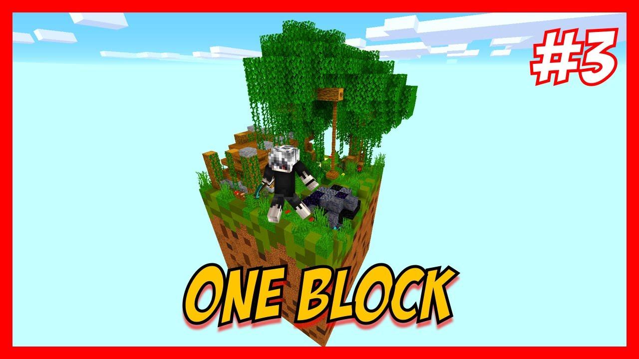 "MINECRAFT   Mapa ""One Block""   Directo 3"