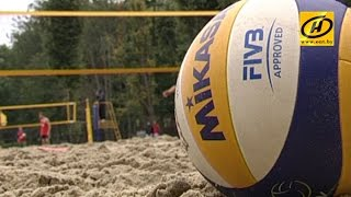 В Кубке Беларуси начали борьбу лучшие представители нашего пляжного волейбола