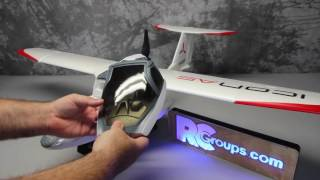 e flite icon a5 1 3m bnf rcgroups review
