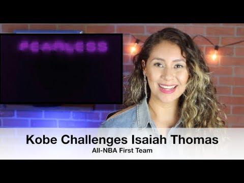Kobe Bryant Challenges Isaiah Thomas to Make All-NBA First Team