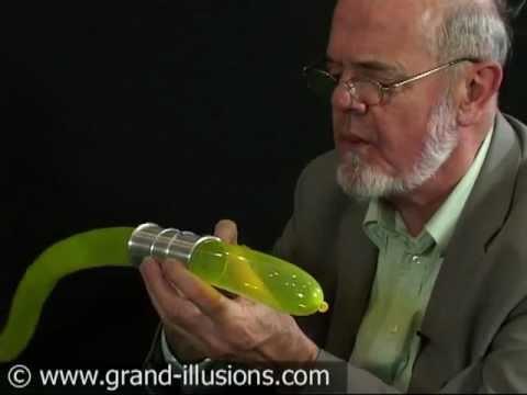 Nail Through Balloon Trick