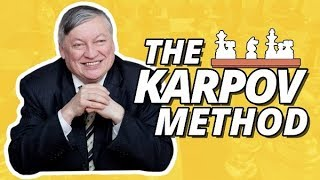 Anatoly Karpov on his Early Games 🏆 Positional Chess Masterpieces (The Karpov Method)