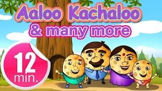 Aaloo Kachaloo - Twinkle Twinkle little Star - Five Little Monkeys & Many More