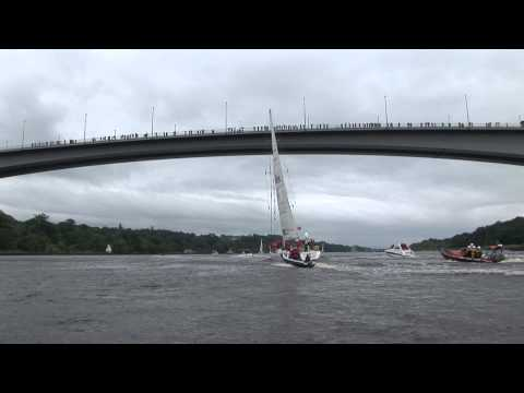The Parade of Sail from Derry~Londonderry to Greencastle