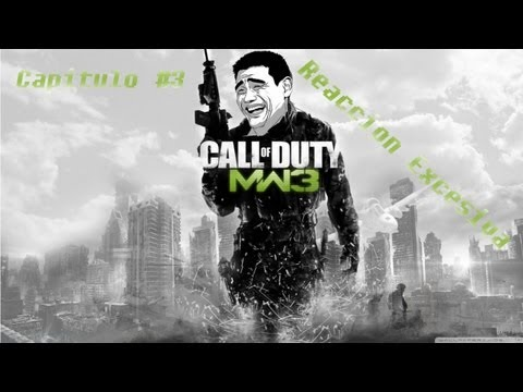 Gameplay #3 -- Call Of Duty Modern Warfare 3 -- Reaccion Execiva