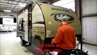2015 Cherokee Wolf Pup 16 FQ Light weight trailer, camper, Forest River