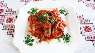 Рыба в томате с овощами рецепт Мойва в томатном соусе а ля килька в томате Риба в томаті з овочами