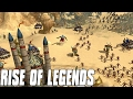 Rise of Legends - Steampunk VS Magic 3vs3 Gameplay