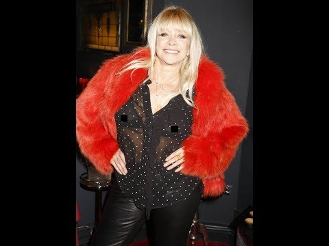 Jo Wood exposes assets in 100% see through bra
