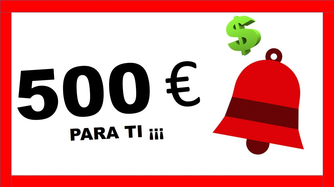 500€ SI ACTIVAS LA CAMPANITA!!! | CONTABILIDAD Y FINANZAS ONLINE