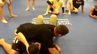FrankMir foot lock fr guard pass and guard.avi