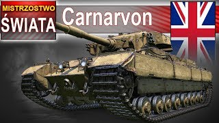 Caernarvon - mistrzostwo na 10 bez golda? - World of Tanks
