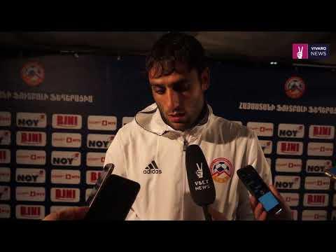 Hayk Iskhanyan post-match commentaries || Armenia 3-2 Cyprus || Friendly || 13.11.2017