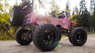 CRF 450 Power Wheels Gets Mad Upgrades