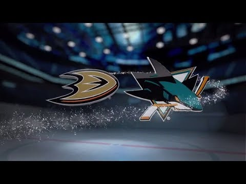 Anaheim Ducks vs San Jose Sharks - November 20, 2017 | Game Highlights | NHL 2017/18. Обзор матча