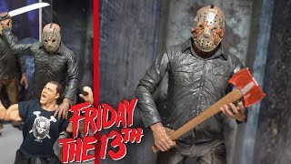 NECA FRIDAY THE 13TH PART V JASON VOORHEES ACTION FIGURE REVIEW!