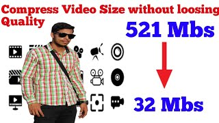 How to compress video size without long quality in urdu hindi