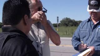 Always Look Up! Eyewitness and MUFON Investigators go back to find Texas UFO Crash site.