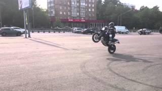 xt660x wheelie