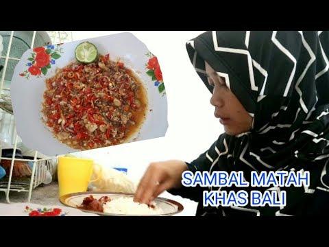 Masak & Makan Sambal Matah Khas Bali