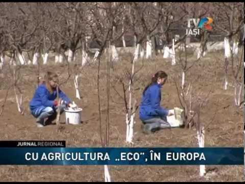 """CU AGRICULTURA  """"ECO"""", ÎN  EUROPA"""
