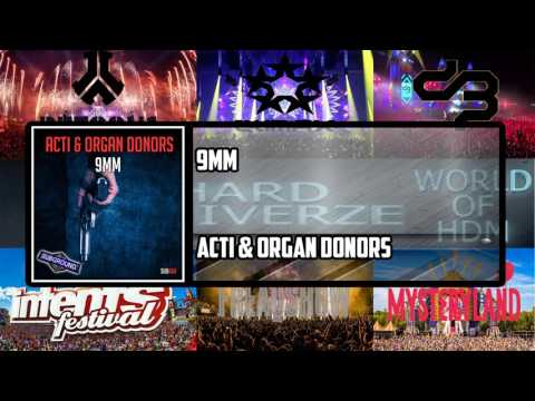 ACTI & Organ Donors - 9MM