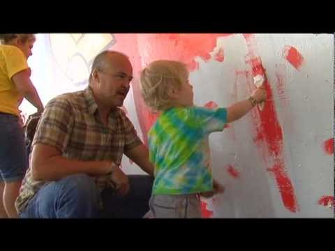 view Civic Center Mural Project video