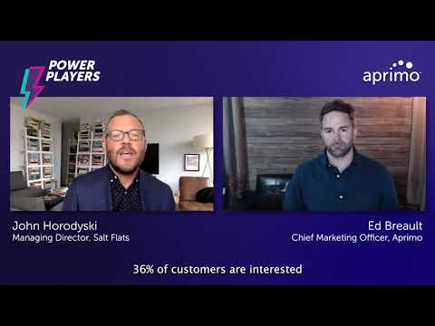 Personalization is expected | John Horodyski – Aprimo Power Player