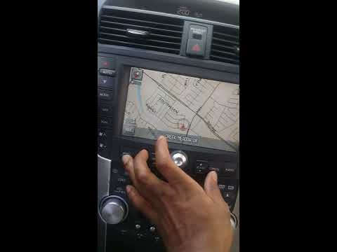 How to fix Acura TL navigation problem