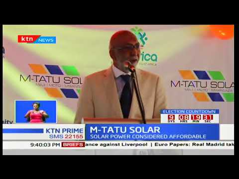 EIT Africa launches M-Tatu solar solution for middle income earners