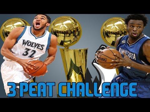 NBA 2K17 MYLEAGUE 3 PEAT CHALLENGE | INJURIES SUCK