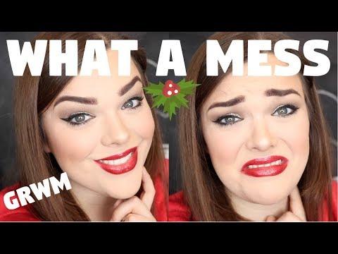 LIVEGLAM SCANDAL, FINALS, VLOG CHANNEL & MORE! Holiday Makeup Chit Chat GRWM