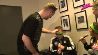 Sam Smith Surprises Blindfolded Interviewers