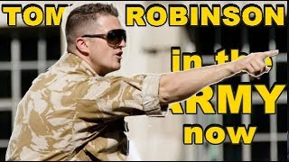 Tommy Robinson in the army now #iamsoldierx